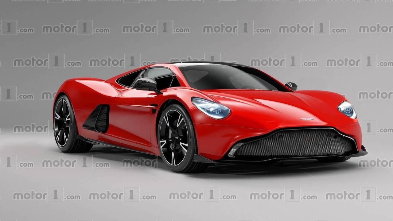 2020 Aston Martin Ortadan Motorlu Spor Otomobil