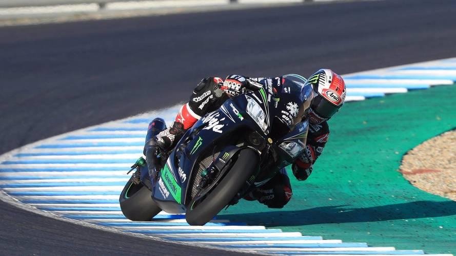 El campeón del WorldSBK, Jonathan Rea, bate a las MotoGP en Jerez