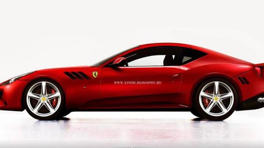 Ferrari FF fastback coupe rendered