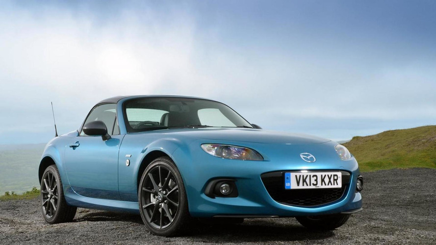 Mazda MX-5 Sport Graphite limited edition launched in UK