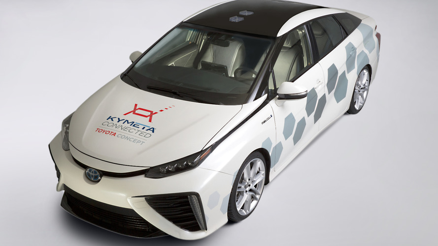 Toyota Mirai-based Research Vehicle bows in Detroit