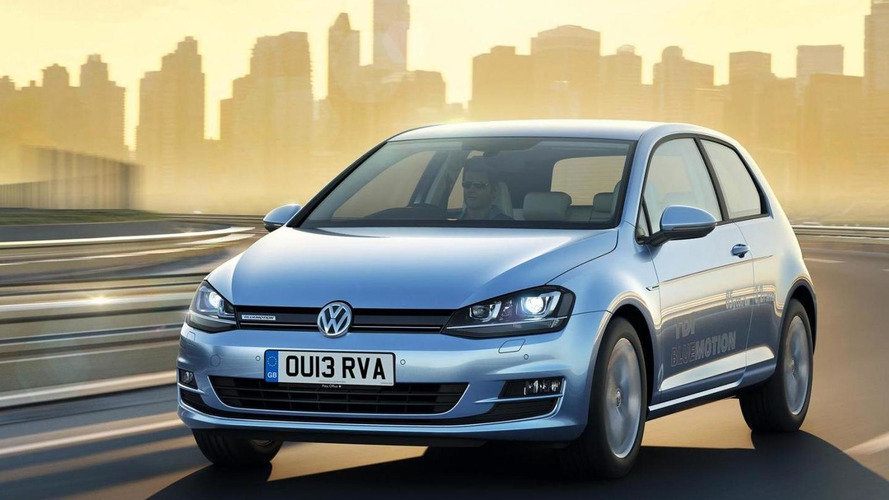 2013 Volkswagen Golf BlueMotion priced from 20,335 GBP