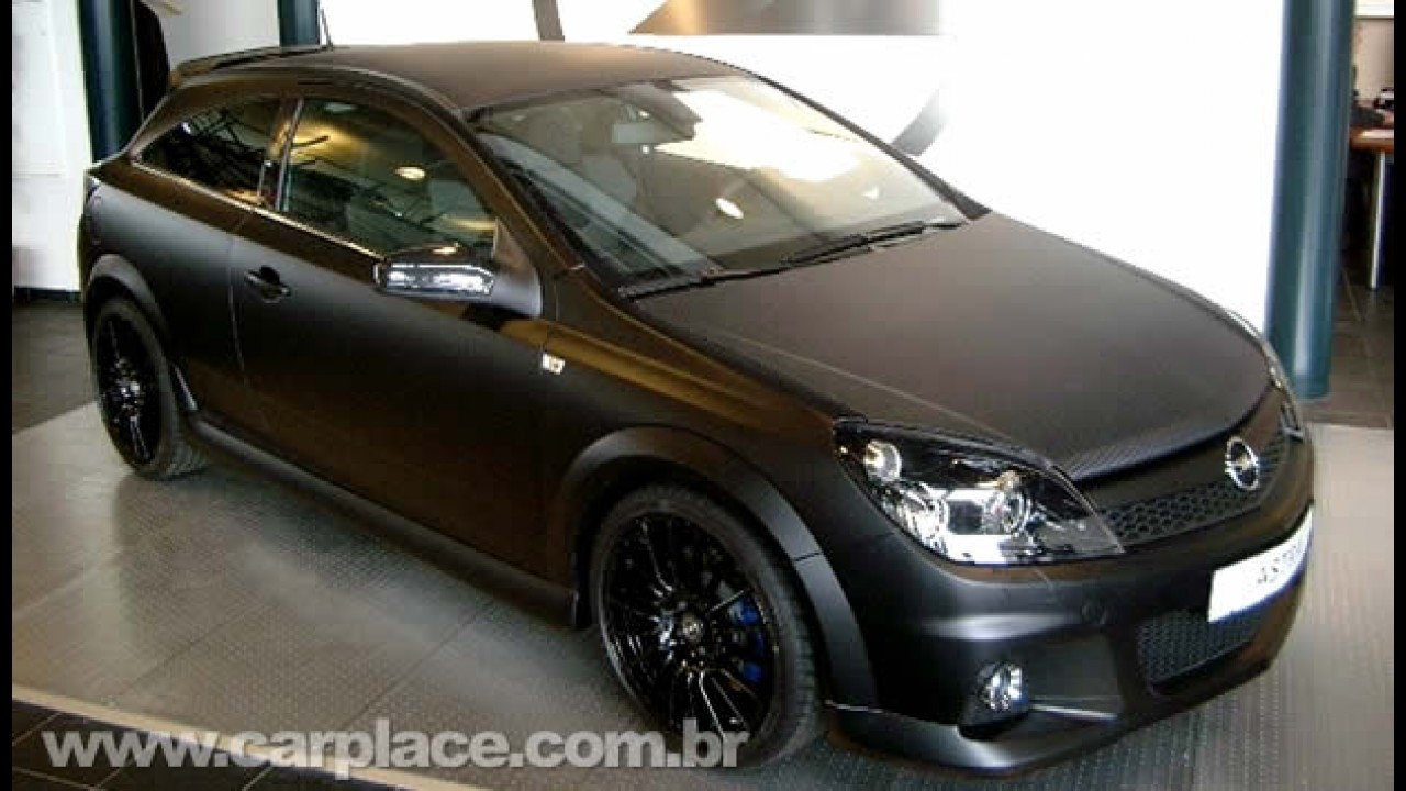 europa opel astra opc limited edition black. Black Bedroom Furniture Sets. Home Design Ideas