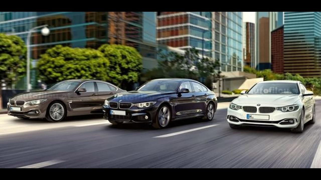 Vazou: BMW Série 4 Grand Coupé surge em imagens oficiais