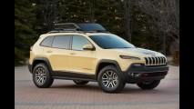 Jeep Adventure: Cherokee aparece com pitadas da Fiat no estilo
