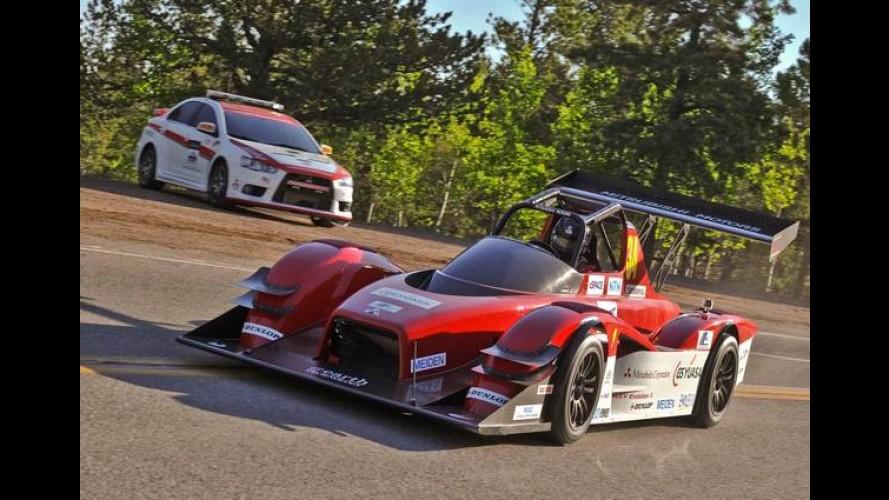 Mitsubishi vai levar o elétrico MiEV Evolution III de 603 cv para a subida de Pikes Peak