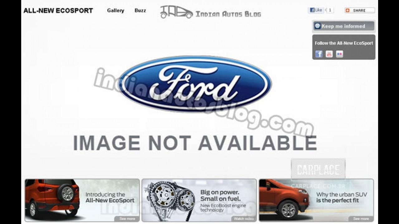 Novo Ecosport 2012: Ford deixa vazar informações da nova geração