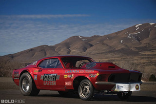 Gasser Race Cars Rumble Into L.A.'s Automobile Driving Museum
