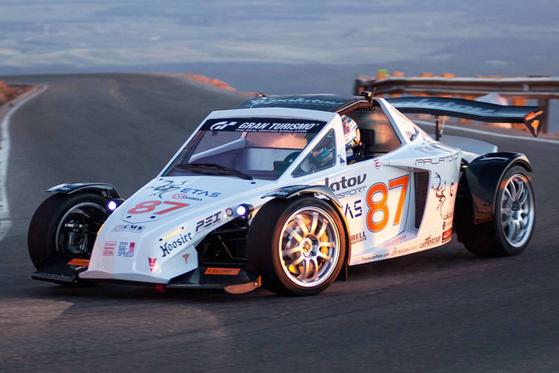 This Street-Legal Racecar Won Pikes Peak, Now It\'s For Sale