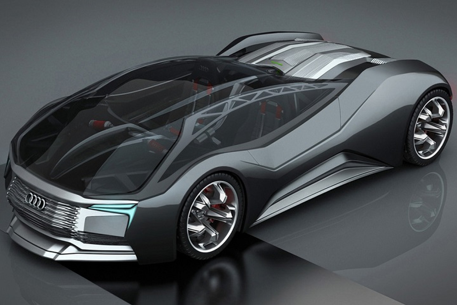 Audi F Tron Concept Is A Nuclear Powered Glimpse Of The Future