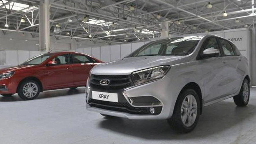 Production Lada X-Ray photographed completely undisguised