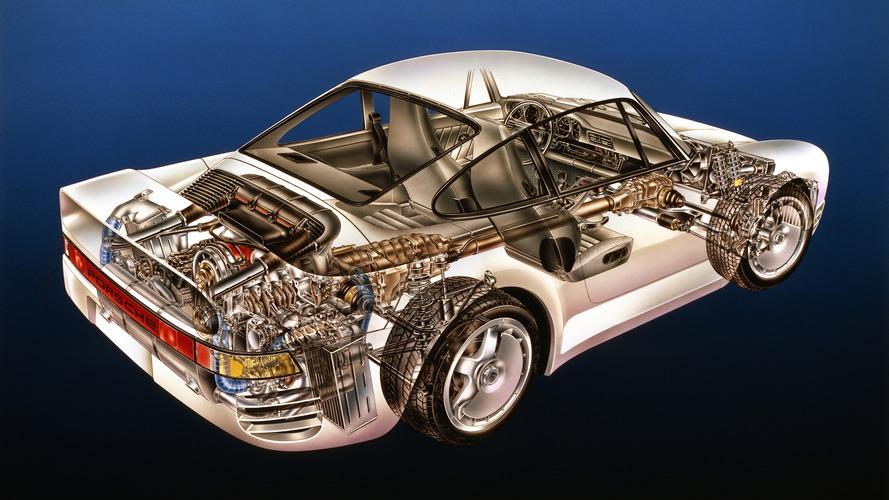 Kimble Kutaway: Porsche 959