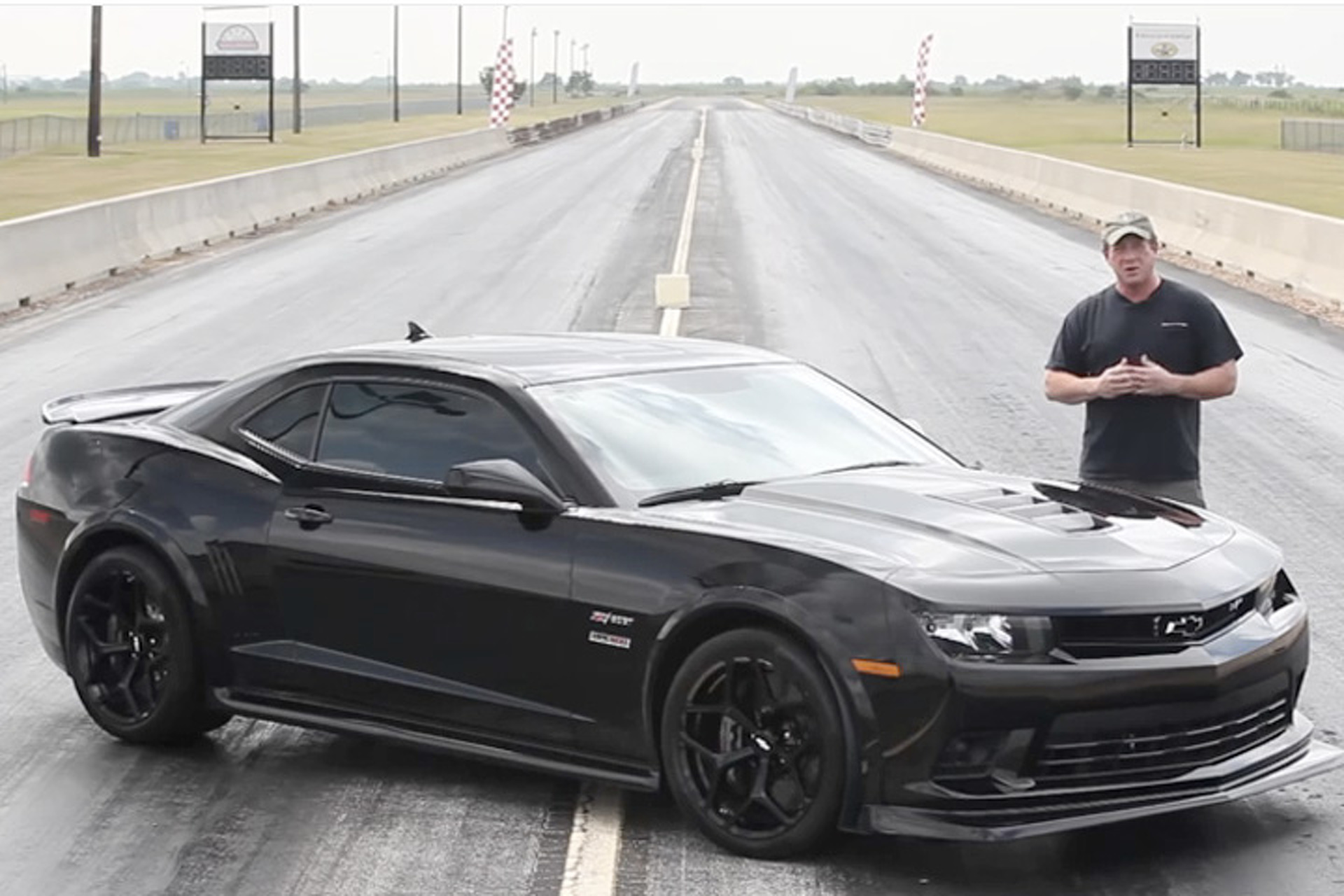Join John Hennessey for a Ride in a 636HP Camaro Z/28 [Video]