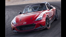 Mazda schwenkt die grüne Flagge