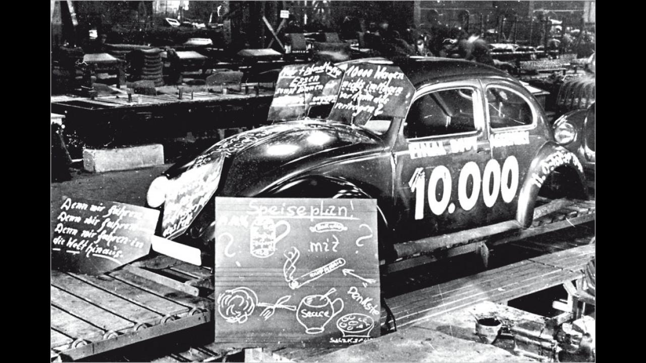 Volkswagen Nummer 10.000