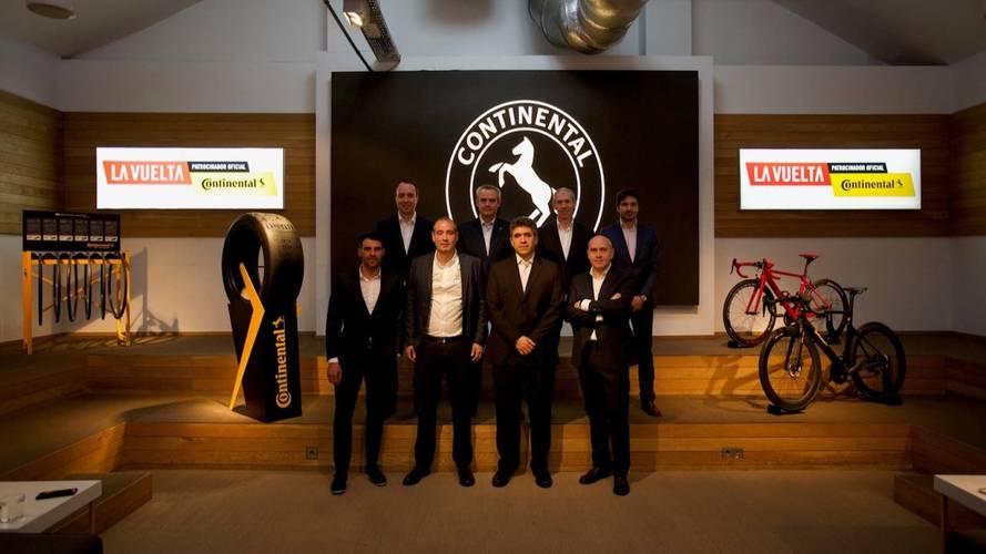 Continental se convierte en patrocinador oficial de La Vuelta a España