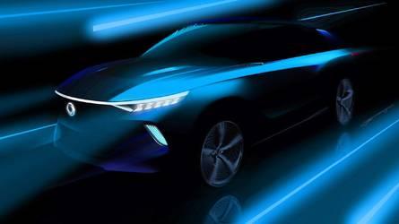 SsangYong e-SIV Concept teaser: anticipo de un SUV eléctrico
