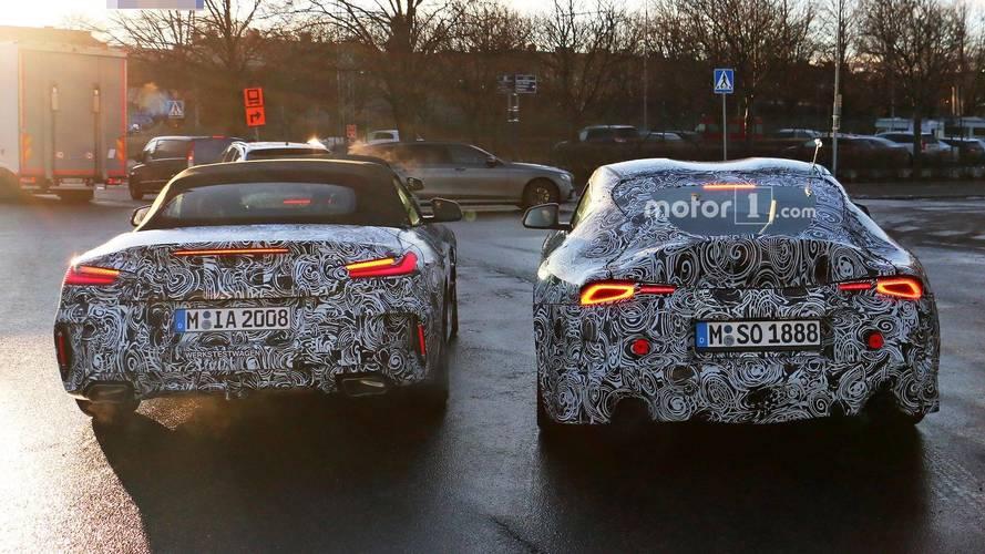 Egyszerre kapták lencsevégre a BMW Z4-Toyota Supra párost