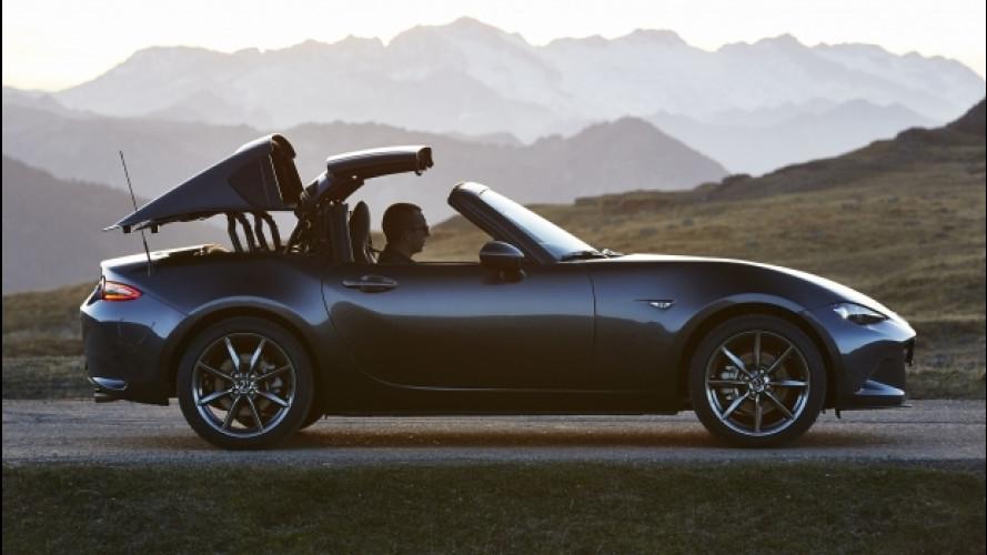Mazda MX-5 RF, cosa cambia rispetto alla sorella col tetto soft
