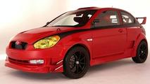 Hyundai Accent Urban Assault Vehicle by Ernie Manansala