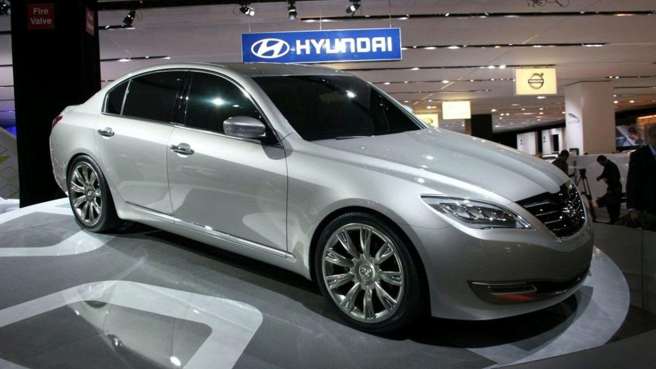 Hyundai Genesis at 2007 New York Motor Show