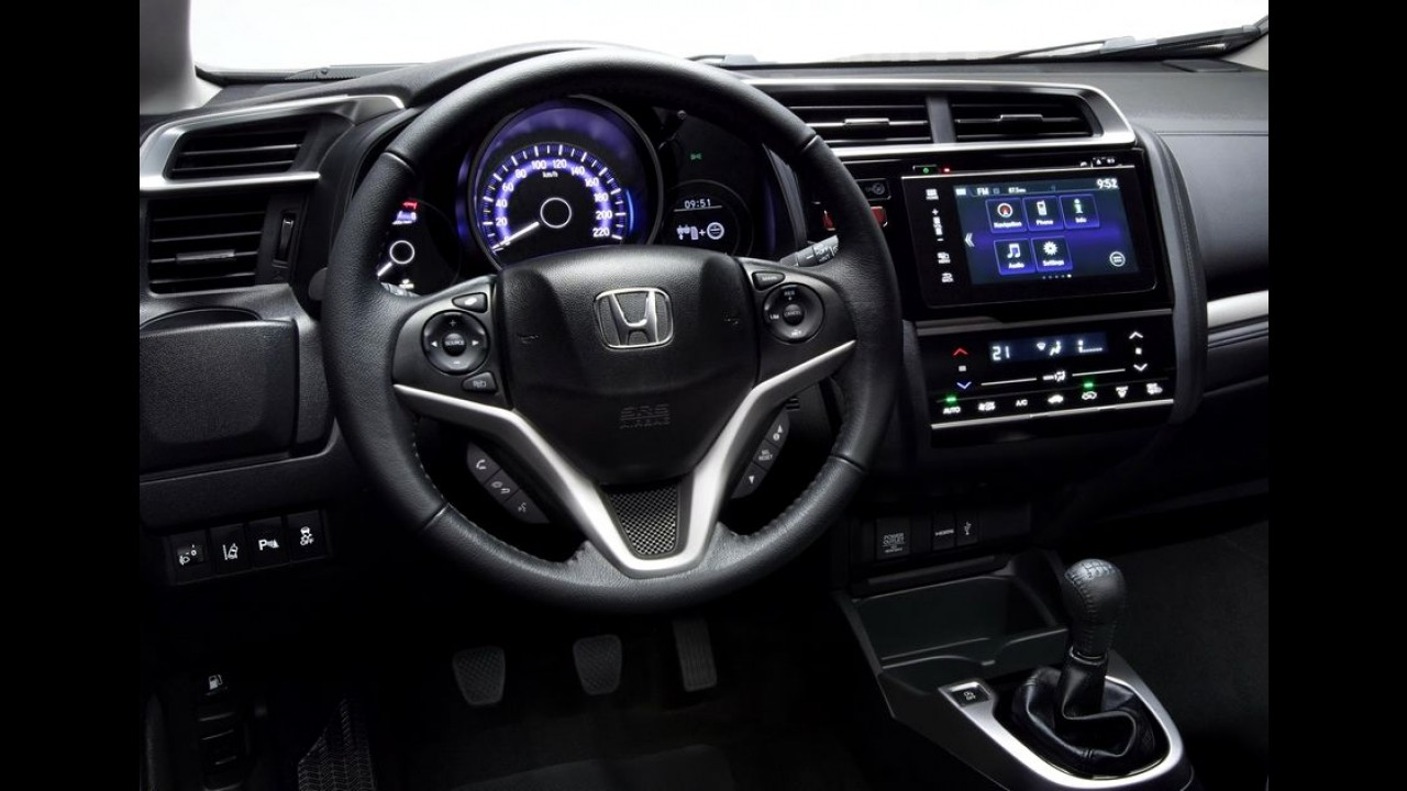 Veja as primeiras fotos do novo Honda Fit lançado na Europa