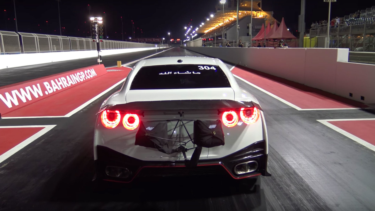 Nissan GT-R World record