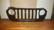 2018 Jeep Wrangler front grille