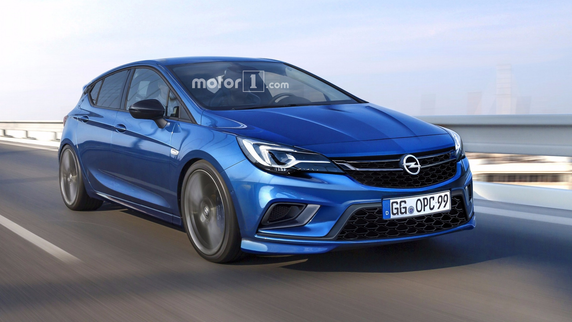 opel astra opc coming later this year here 39 s how it might look. Black Bedroom Furniture Sets. Home Design Ideas