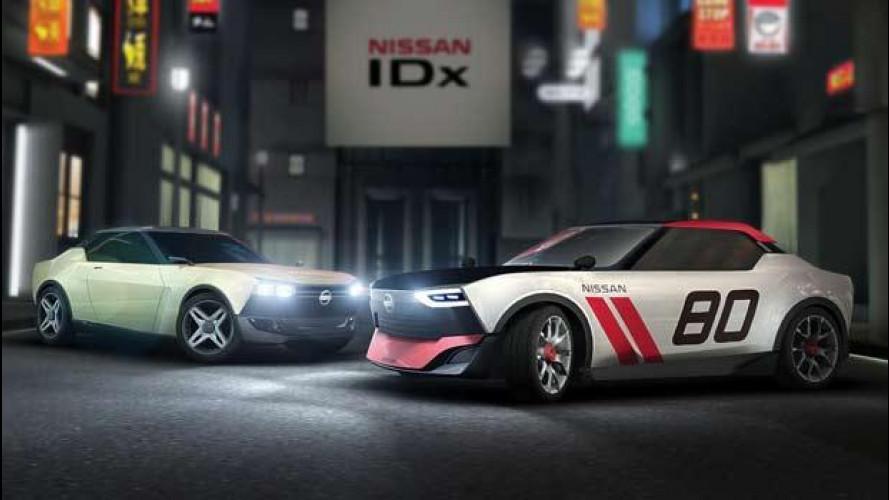 Nissan IDx Co-creations, l'auto nasce grazie agli spettatori del Tokyo Motor Show