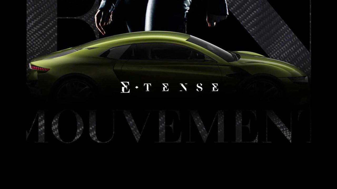 DS E-Tense, i teaser