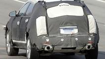 New Cadillac BRX cuv spy photos