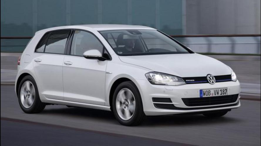 """Volkswagen Golf TSI BlueMotion, il """"sussurro"""" del 3 cilindri"""