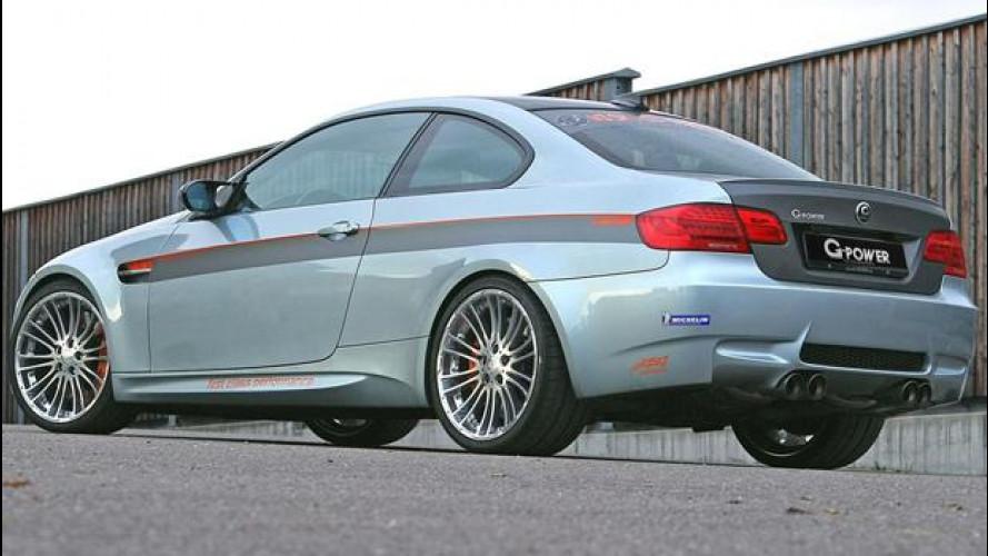 Una BMW M3 by G-Power vola a 337,6 km/h