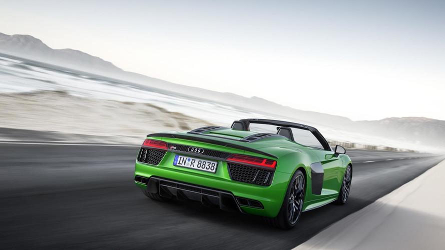 VIDÉO - L'Audi R8 Spyder V10 Plus en action