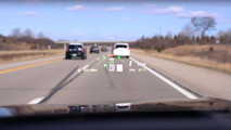 Lincoln Continental head-up display