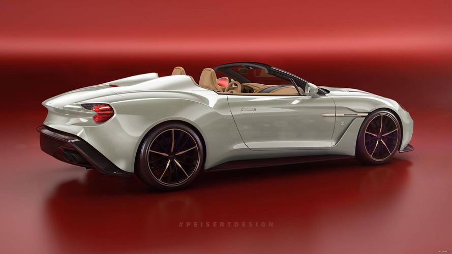 Aston Martin Vanquish Zagato Speedster böyle görünebilir