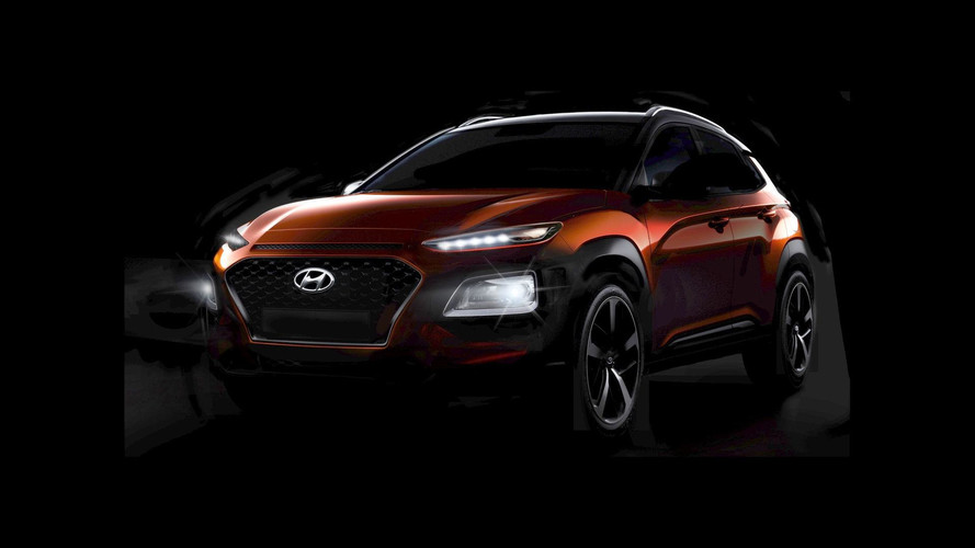 2018 Hyundai Kona Fully Shows Its Wacky Design