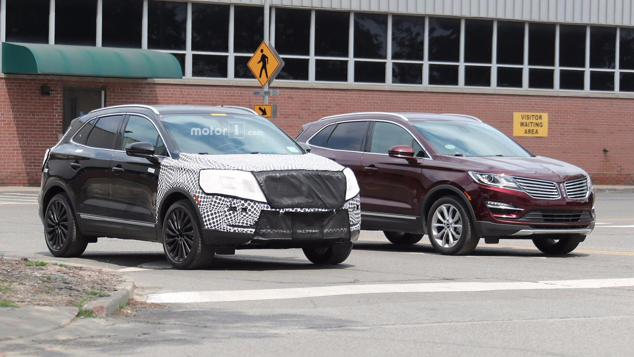 Lincoln Mkz Lease >> Updated Lincoln MKC Spied With Continental Grille