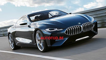 BMW 8 Series concept leaked official images