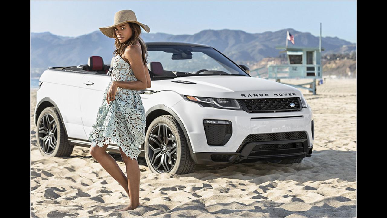 Naomie Harris: Range Rover Evoque Cabriolet