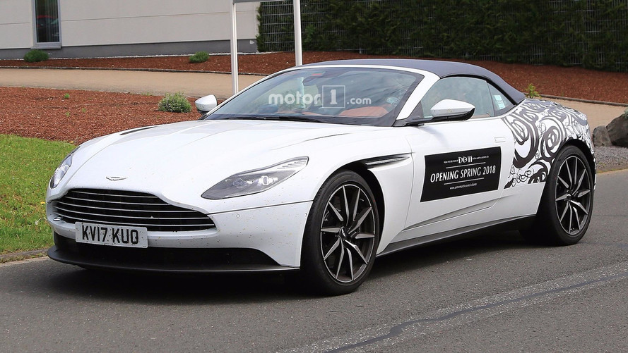 Photos espion - L'Aston Martin DB11 Volante, c'est elle