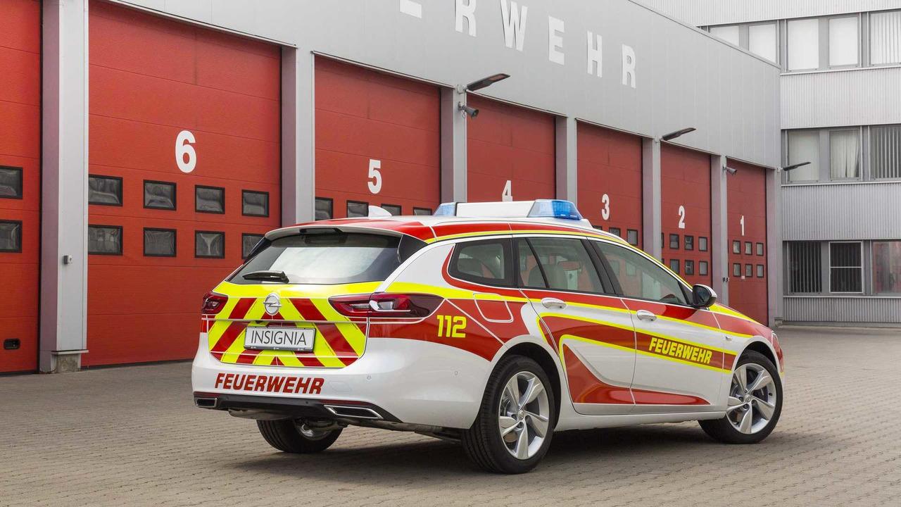 Vehículos de emergencia de Opel