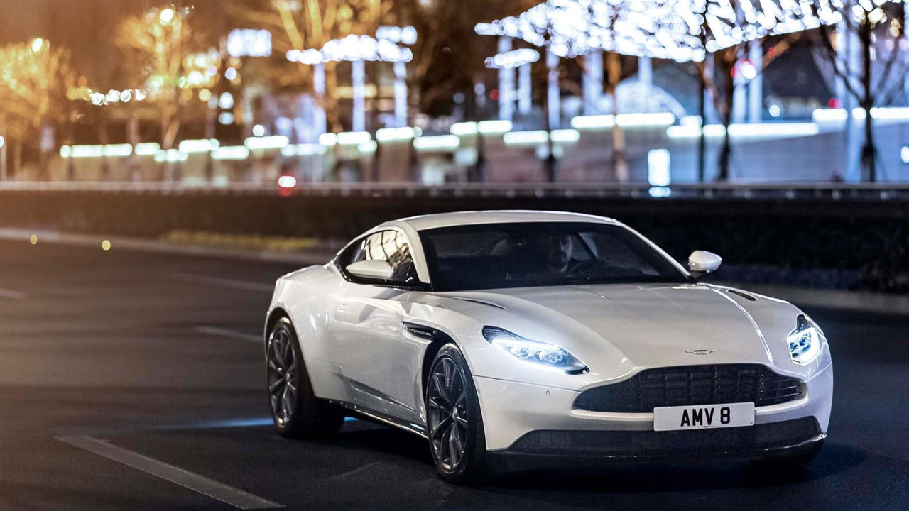 DB11 drives Aston Martin's first-half performance