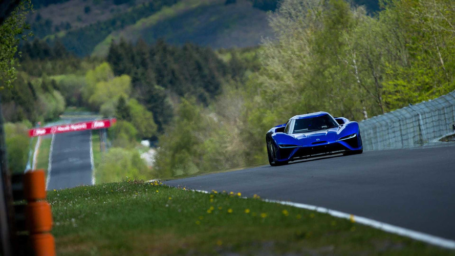 Vídeo - Hipercarro elétrico chinês quebra recorde em Nürburgring