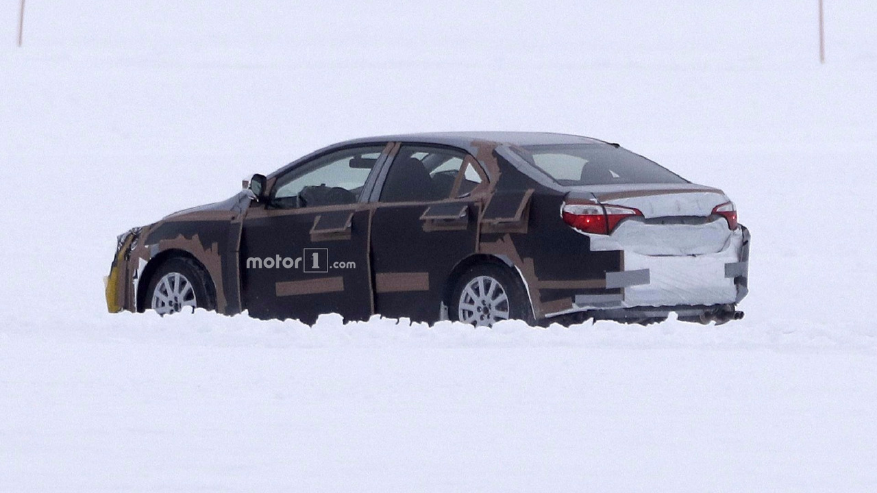 2019 Toyota Corolla Spied For The First Time