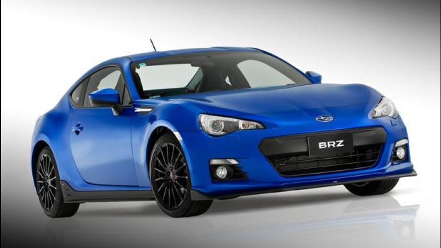 Subaru BRZ STI Sports Kit concept