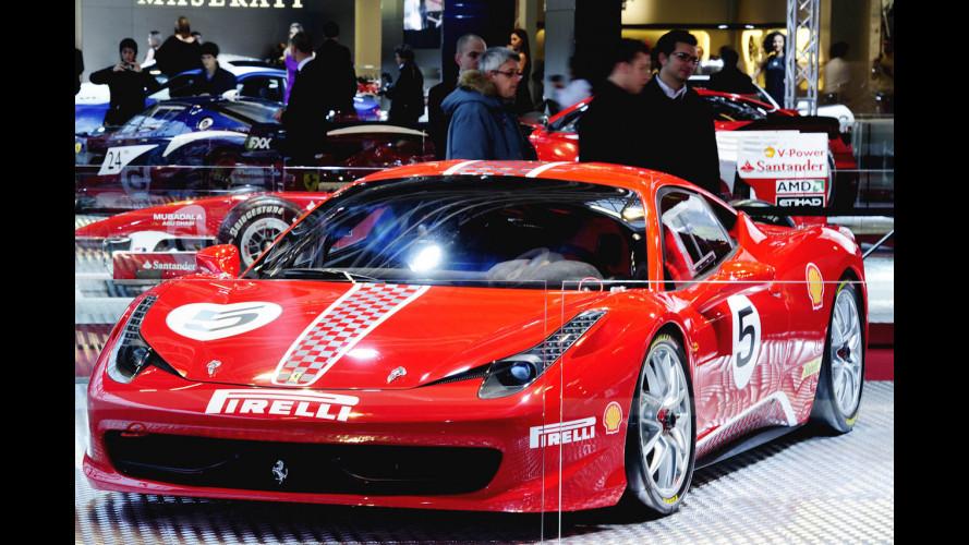 La Ferrari 458 Challenge debutta al Motor Show 2010