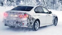 2016 BMW 3-Series hybrid spy photo