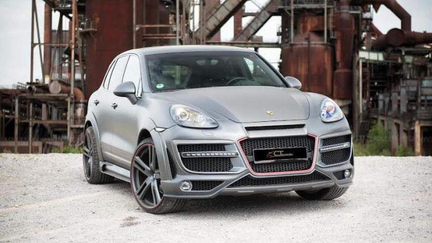 CT Exclusive releases widebody kit for Porsche Cayenne